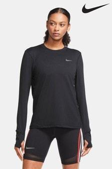 Nike Element Running Crew Sweat Top