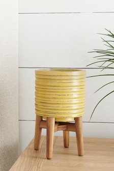 Small Plant Pot On Stand