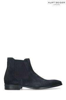 Kurt Geiger London Blue Frederick Boots