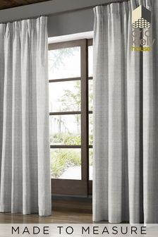 Scribble Cool Grey Made To Measure Curtains by Orla Kiely