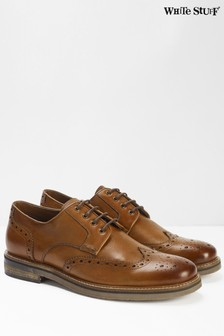 White Stuff Tan Billy Brogue Lace Shoes