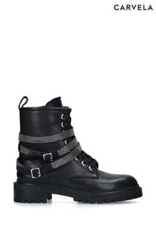 Carvela Black Tuxedo Boots