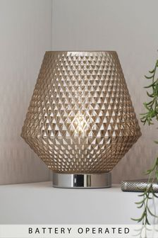Battery Operated Tapered Ambient Lamp