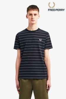 Fred Perry T-Shirt mit schmalen Streifen