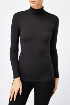 Lightweight Truetherm™ Microwarmth Roll Neck Top
