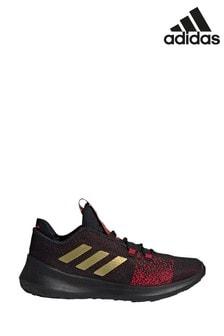 נעלי ספורט של adidas Run דגם SenseBounce לילדים בצבע אדום/שחור