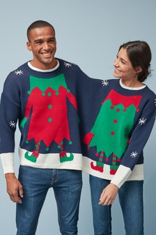 Novelty Christmas Double Jumper