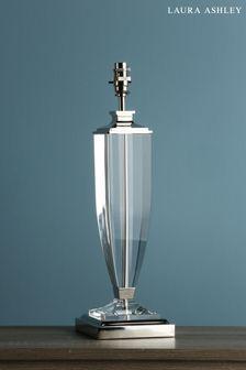 Chrome Carson Crystal Large Table Lamp Base