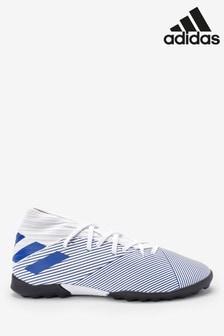 adidas White P3 Nemeziz Turf Junior & Youth Boots