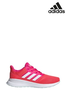 adidas Run Red Falcon Youth Trainers