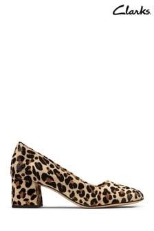 Clarks Leopard Sheer Rose Shoes