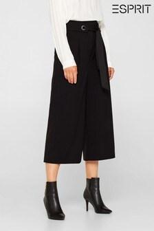 Esprit Black Woven Trousers