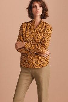 Frill Neck Shirt