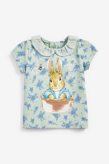Peter Rabbit Licence Collar Top (3mths-7yrs)