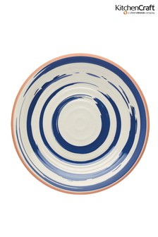 Set of 4 Kitchencraft Lulworth Melamine Side Plates