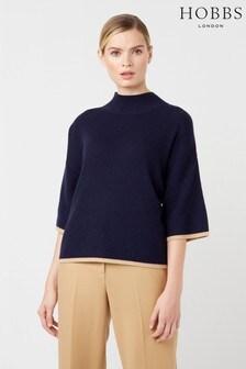Hobbs Blue Beki Sweater