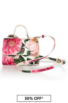 Dolce & Gabbana Kids Pink Leather Bag