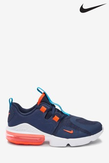 Nike Navy/Orange Air Max Infinity Youth Trainers