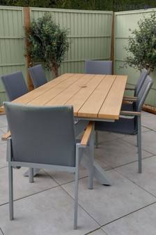 Siena 6 Seater Dining Set By Leisuregrow