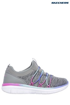 Skechers® Grey Synergy 2.0 Simply Chic Trainers