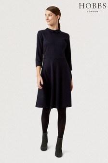Hobbs Blue Lillith Dress