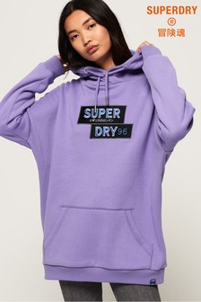 Superdry Nineties Appliqué Hoody