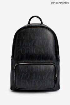 Emporio Armani Black Multi Rucksack
