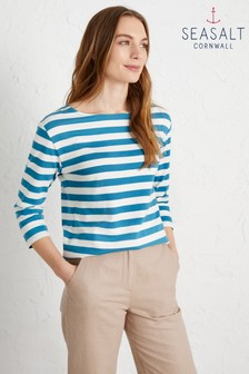 Seasalt Blue Sailor Top