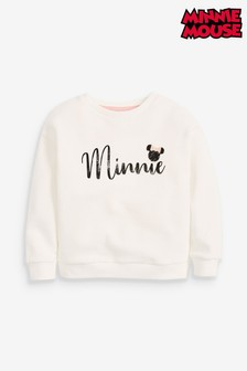 Disney™ Minnie Mouse™ Licence Crew Neck Top (3-16yrs)