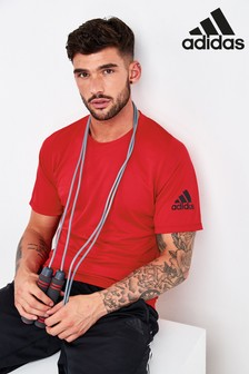 adidas Red Freelift Sport Ultimate T-Shirt