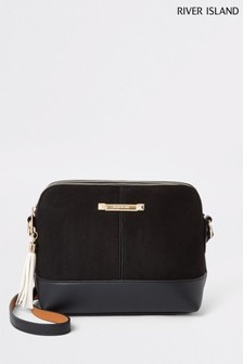 River Island Black Medium Bag