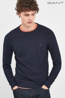 GANT Signature Weave Crew Sweater