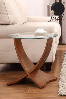 Siena Walnut Lamp Table By Jual