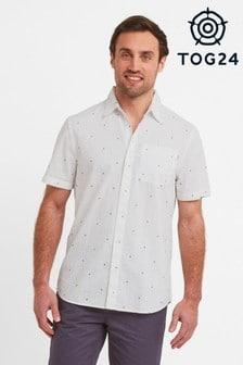 Tog 24 White Geoff Mens Shirt