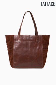 FatFace Brown Tessa Large Tote Bag