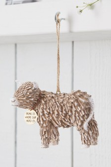 Hamish Highland Cow Hanging Ornament