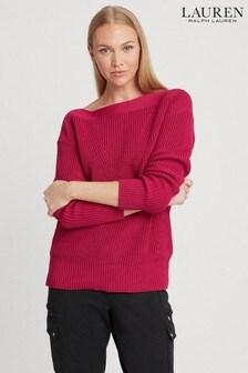 Lauren Ralph Lauren® Bright Fucshia Vatrina Jumper
