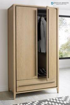 Rimini Oak Double Wardrobe by Bentley Designs