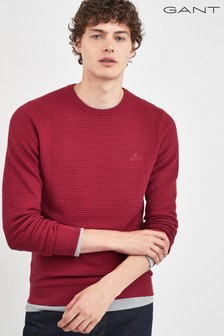 GANT Signature Weave Crew Sweater