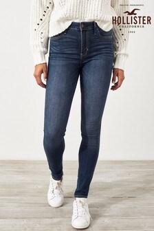 Hollister Dark Blue Super Skinny Jeans
