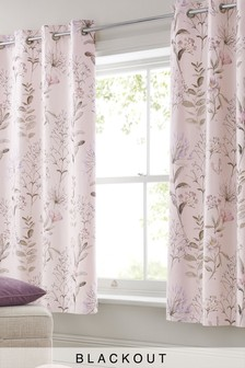 curtains wholesale pastoral curtain blackout pink style
