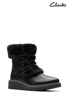 Clarks Black Ivery Jump Boots
