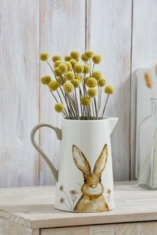 Harley Hare Ceramic Jug Vase