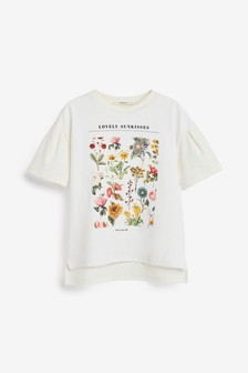 Floral Graphic T-Shirt (3-16yrs)