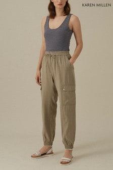 Karen Millen Multi Mini Stripe Top