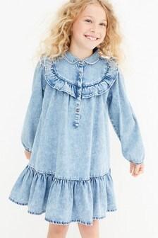 Frill Detail Dress (3-16yrs)