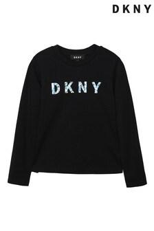 DKNY Black Logo T-Shirt