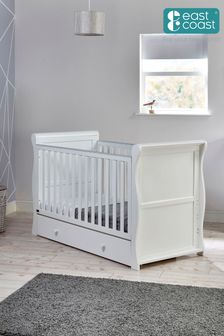 Nebraska Cot Bed White By East Coast