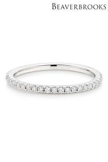 Beaverbrooks 18ct Diamond Ladies Ring