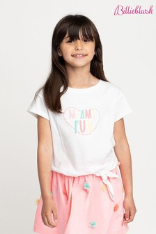 Billieblush White Miami T-Shirt